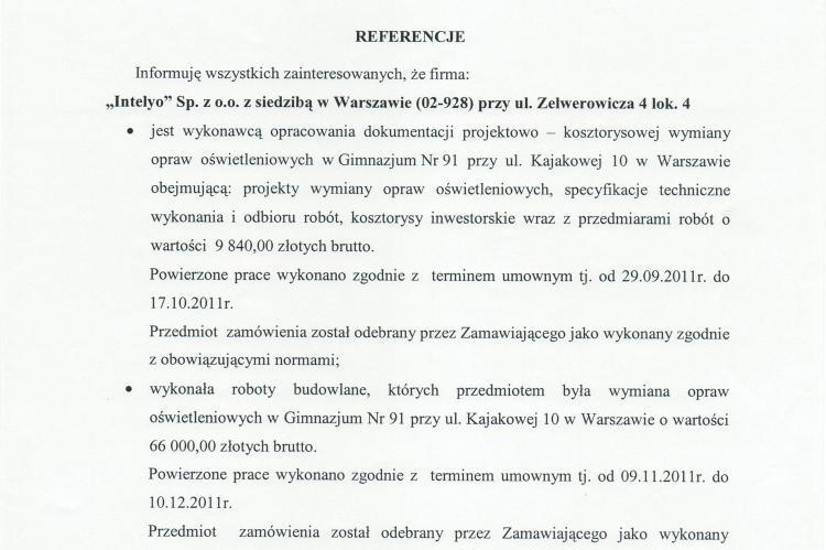 Gimnazjum nr 91 Warszawa