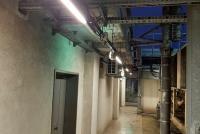Wymiana opraw oświetleniowych w częściach technicznych budynku